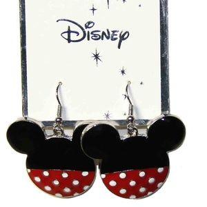 Disney Minnie Mouse Ears Earrings
